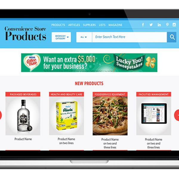 convenience store products online new website