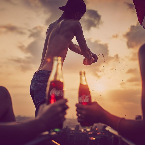 Summertime Coke