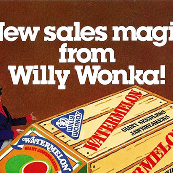 Willy Wonka Vintage Ad