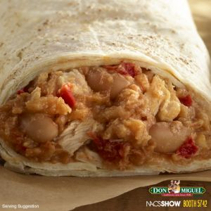 THE BOMB® Chipotle Chicken Burrito