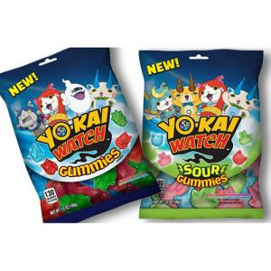 Bazooka 'Yo-kai Watch' Sour Gummies
