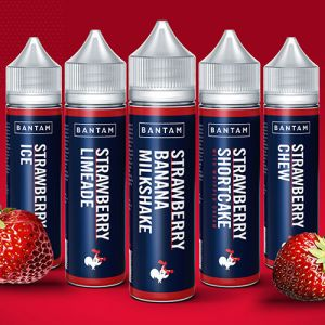 bantam strawberry e-liquids