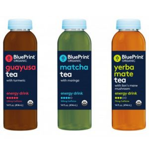 BluePrint tea-infused energy drinks