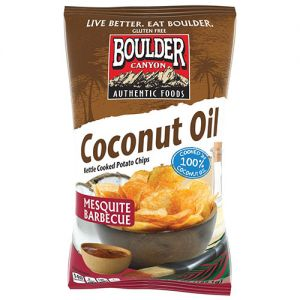 Boulder Canyon Coconut Oil Mesquite Barbecue Chips