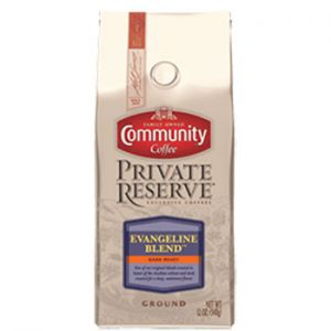 Community Coffee Gift of Gold Private Reserve holiday campaign