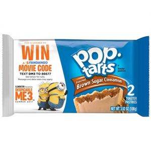 "Pop-Tarts and Rice Krispies Treats ""Despicable Me 3"" promotional packaging"
