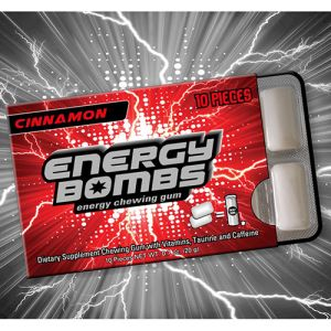 Energy Bombs chewing gum