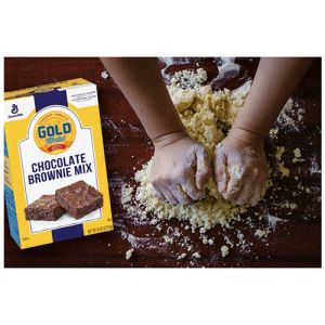 gold medal clean baking flour
