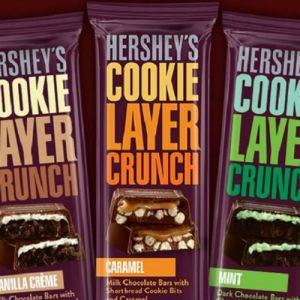 Hershey's Cookie Layer Crunch bars