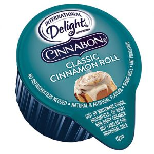 International Delight Cinnabon Creamer portion-control size