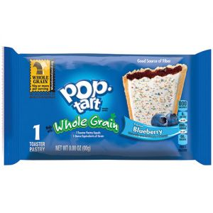 Kellogg's Frosted Blueberry Pop-Tarts Made With Whole Grain