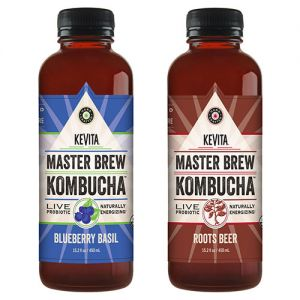 Blueberry Basil and Roots Beer Master Brew Kombucha