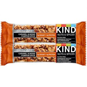 Kind Caramel Almond Pumpkin Spice bar