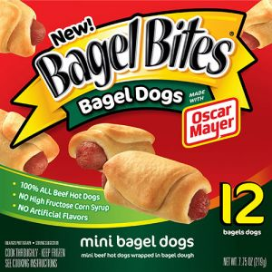 Kraft Heinz Bagel Bites Mini Bagel Dogs