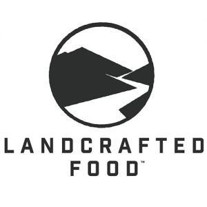 Landcrafted logo Habanero BBQ and Spicy Cajun Smoked Beef Sticks