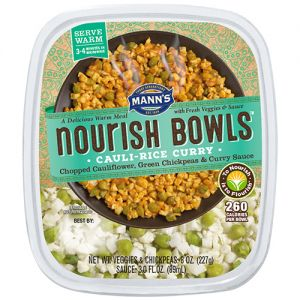 Mann Packing Cauli-Rice Curry Nourish Bowls