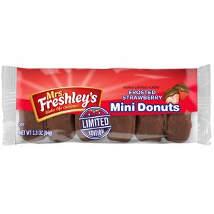 Mrs. Freshley's limited-edition Mini Donuts