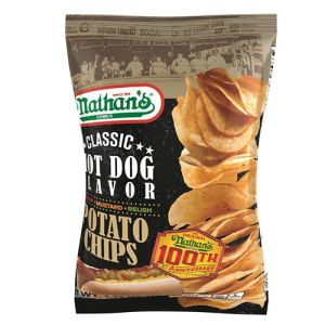 Inventure Foods Nathan's Famous Hot Dog Potato Chips
