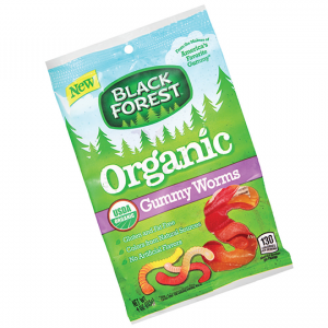 Black Forest Organic Gummy Worms