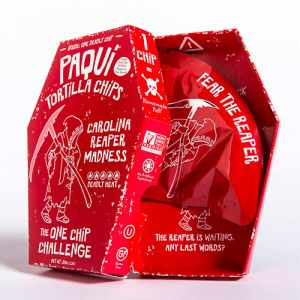 Paqui Carolina Reaper chip