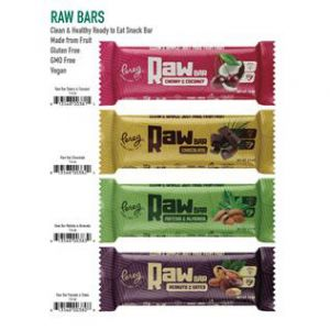 Pereg Natural Foods Raw Bars and Quinoa Bars