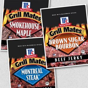 red truck mccormick grill mates jerky