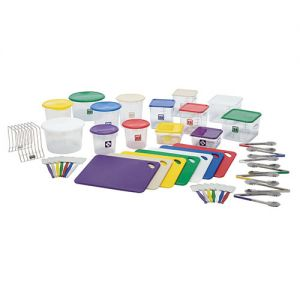 Rubbermaid Color-Coded Foodservice System