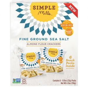 simple mills almond flour cracker snack pack