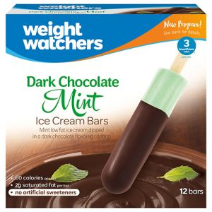 Weight Watchers cones and bars
