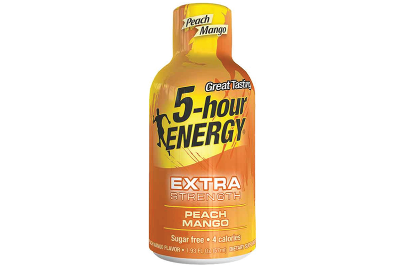 5-Hour Energy Extra Peach Mango