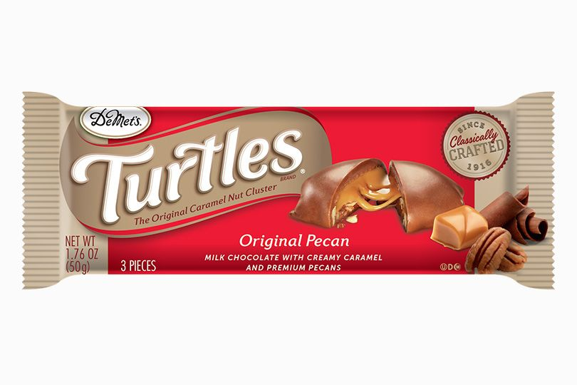 Turtles King Size Candy Bar
