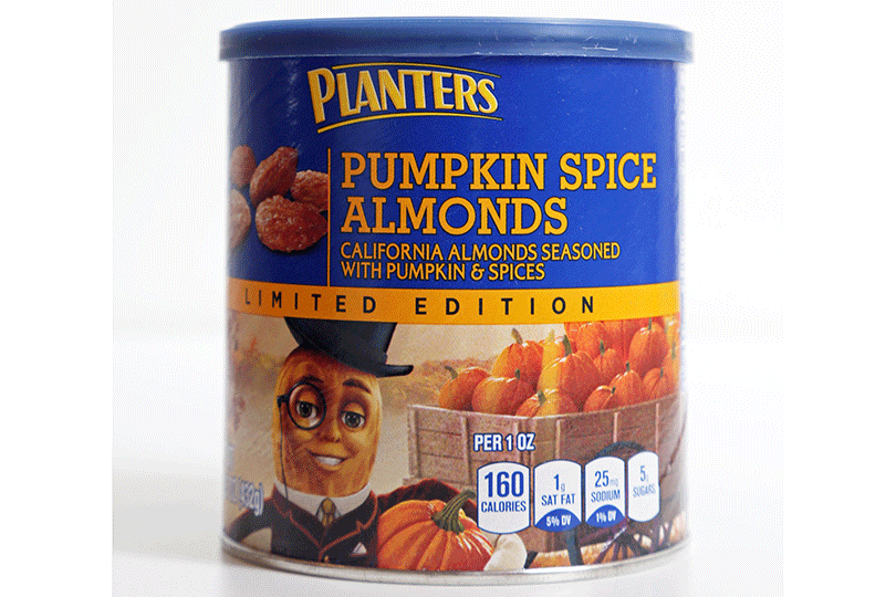 Planters Pumpkin Spice Almonds