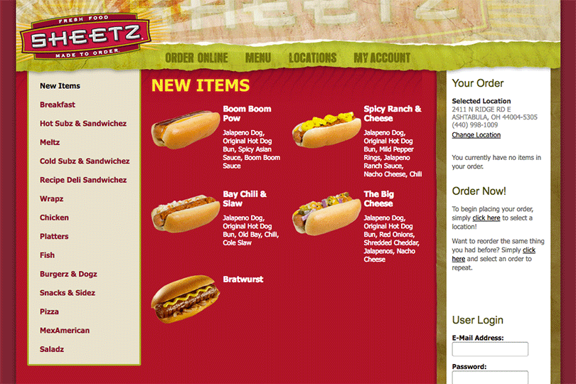 Product Innovator of the Week: Sheetz