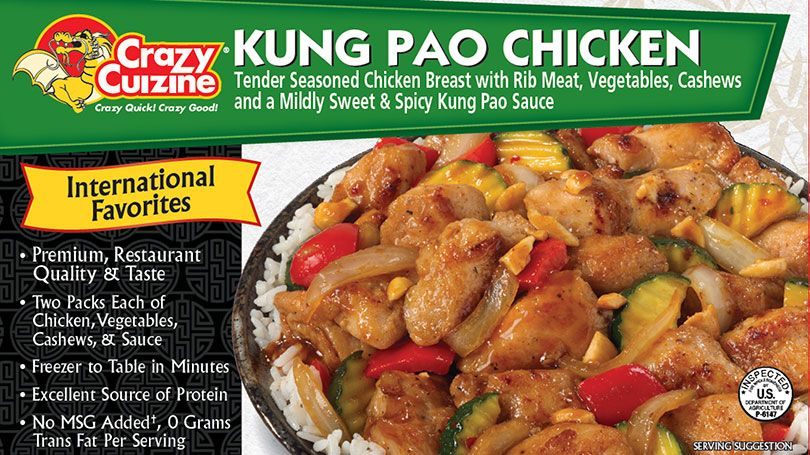 Crazy Cuizine's Kung Pao Chicken