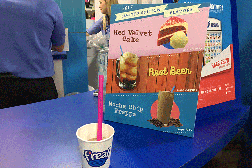 F'real foods' limited-edition flavors
