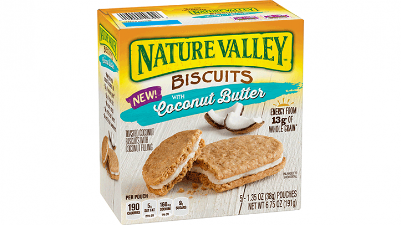 Nature Valley Biscuits in Coconut Butter