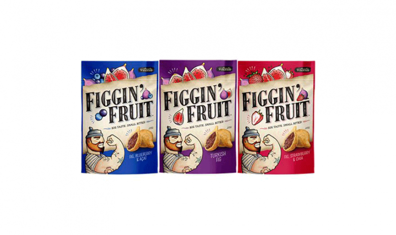 Figgin' Fruit Turkish Fig; Fig, Blueberry & Acai; and Fig, Strawberry & Chia
