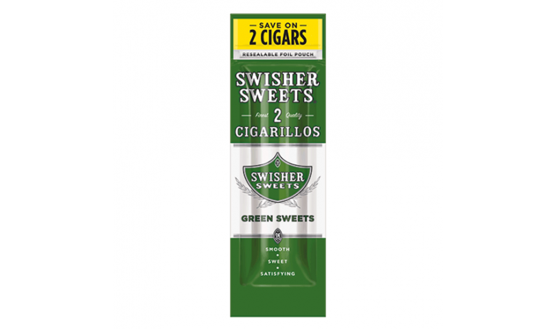 Swisher Sweets Green Sweets Cigarillos