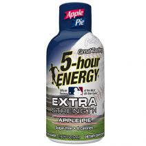 5-hour Energy Extra Strength Apple Pie