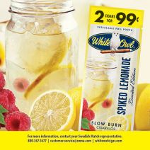 swedish match white owl spiked lemonade cigarillos