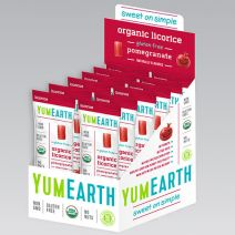 YumEarth licorice and gummies