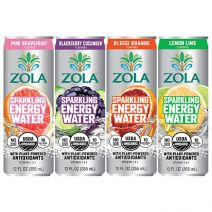 zola sparkling energy waters