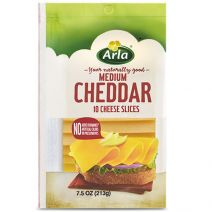 Arla sliced cheese, snack cheese and cream cheese