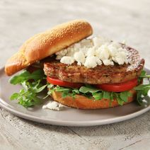 Boca Essentials meatless burgers