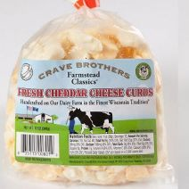 Crave Brothers Farmstead Classics Cheddar Cheese Curds