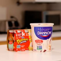 Dannon Non-GMO Project verified yogurts