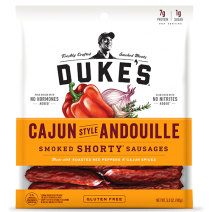 Dukes Andouille Shortly Smoked Shorty Sausages