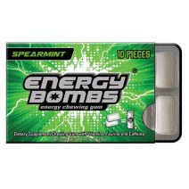 Energy Bombs Chewing Gum Spearmint