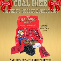 Coal Mine Naughty Nugget Bubble Gum