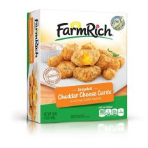 Farm Rich Cheddar Cheese Curds